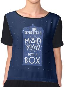 A Mad Man With A Box Chiffon Top