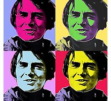 Sagan & Warhol Photographic Print