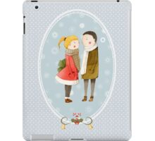 Lovers In The Snow iPad Case/Skin
