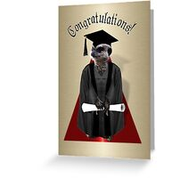 Meerkat Graduate Greeting Card