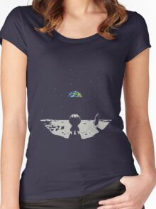 Kerbal's Space Women's Fitted Scoop T-Shirt