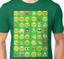 green emoji Unisex T-Shirt
