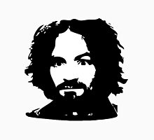 Charles Manson Face. Unisex T-Shirt