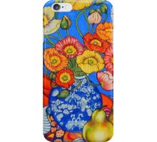 Poppies & Pears iPhone Case/Skin