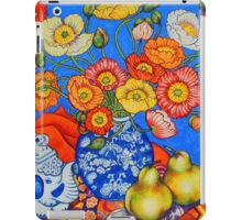 Poppies & Pears iPad Case/Skin