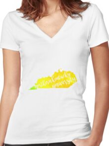 Northern Kentucky University Women's Fitted V-Neck T-Shirt