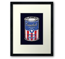 American Soup Framed Print