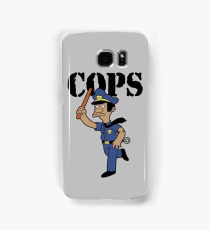 Springfield Cops Samsung Galaxy Case/Skin