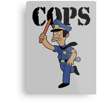 Springfield Cops Metal Print