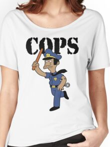 Springfield Cops Women's Relaxed Fit T-Shirt