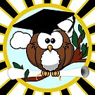 Graduation Owl by Gravityx9