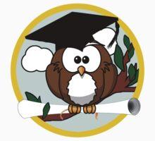 Graduation Owl One Piece - Short Sleeve