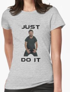 Just do it Shia Labeouf Womens Fitted T-Shirt