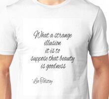 Leo Tolstoy Beauty Quote Unisex T-Shirt