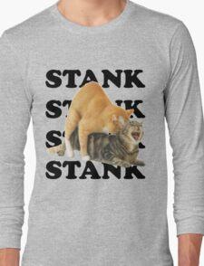 STANK CAT SEX SWAGGIN ASS SHIRT AIGHT Long Sleeve T-Shirt