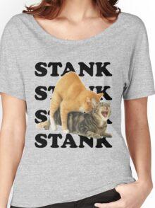 STANK CAT SEX SWAGGIN ASS SHIRT AIGHT Women's Relaxed Fit T-Shirt