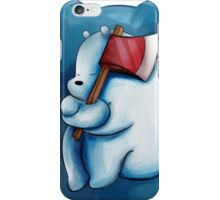 Ice Bear and His Axe iPhone Case/Skin