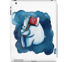 Ice Bear and His Axe iPad Case/Skin