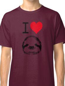 I Love Sloths Classic T-Shirt