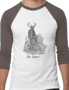 Oh Deer! Men's Baseball ¾ T-Shirt
