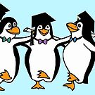 Graduation Penguins  by Gravityx9