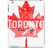 Toronto Blue Jays Canada iPad Case/Skin