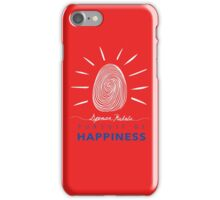 Pursuit of Happiness Red iPhone Case/Skin