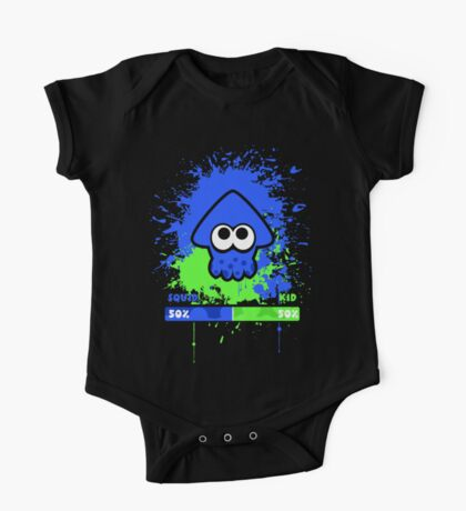 Kid or Squid Splatoon One Piece - Short Sleeve