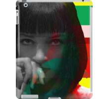 Mia Wallace Glitch iPad Case/Skin