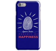 Pursuit of Happiness Navy iPhone Case/Skin