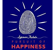 Pursuit of Happiness Navy Photographic Print