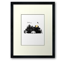 City Moonrise Framed Print