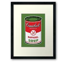 Raph Soup Framed Print