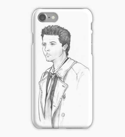 Castiel sketch a la season 4 iPhone Case/Skin