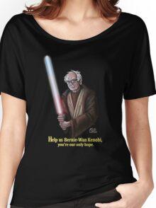 Help us Bernie-Wan Kenobi! Women's Relaxed Fit T-Shirt