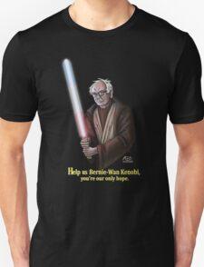Help us Bernie-Wan Kenobi! Unisex T-Shirt