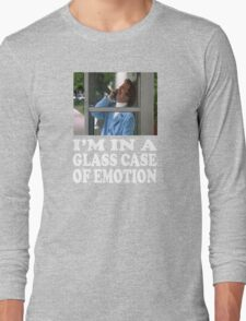 Anchorman - I'm In A Glass Case Of Emotion Long Sleeve T-Shirt