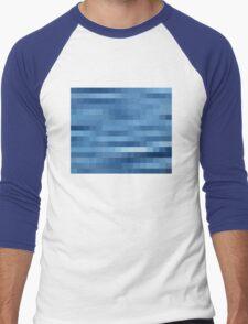 Nature Pixels No 10 Men's Baseball ¾ T-Shirt