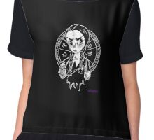 Wednesday's Occult Chiffon Top