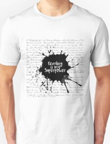 Reading is my Superpower (White) Unisex T-Shirt