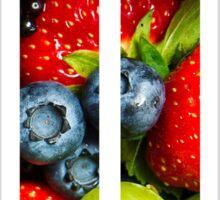 The Letter T - Fruit Sticker