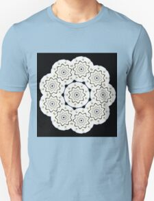 9-petaled Canadian White Star Rose T-Shirt