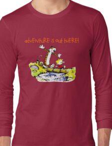 Calvin and Hobbes' Wonderful Adventure Long Sleeve T-Shirt