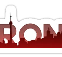 Toronto Skyline Sticker
