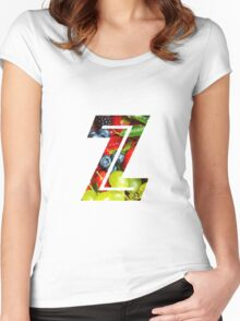 The Letter Z - Fruit Women's Fitted Scoop T-Shirt