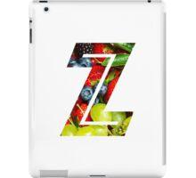 The Letter Z - Fruit iPad Case/Skin