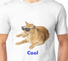 Cool Cat With Sunglasses Unisex T-Shirt