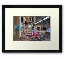 Old Powerhouse 2 - HDR Framed Print
