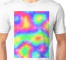 Under The Rainbow - Psychedelic Digital Art Unisex T-Shirt