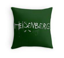 My name is Heisenberg - Graffiti Spray Paint Breaking Bad Throw Pillow